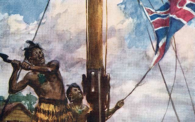 Soon-to-be 175-year search for an indigenous flag