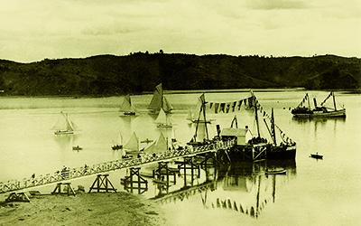 Laying keel of online history of the Mahurangi
