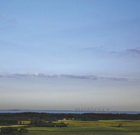 Samso windmills