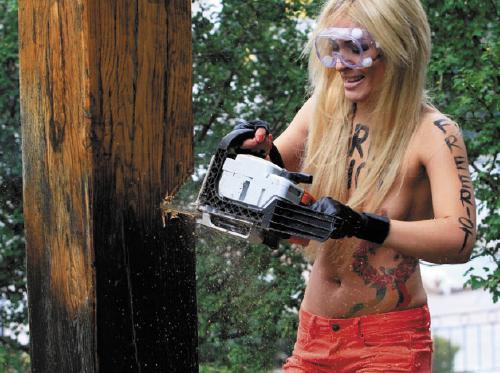 FEMEN, free Riot
