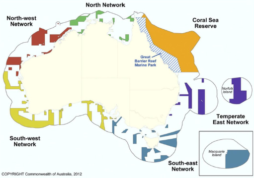 Australia proposed marine reserves