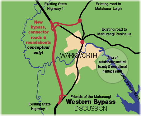 Warkworth bypass concept plan
