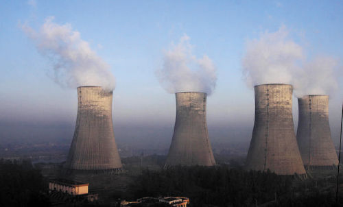 Dadri, cooling towers