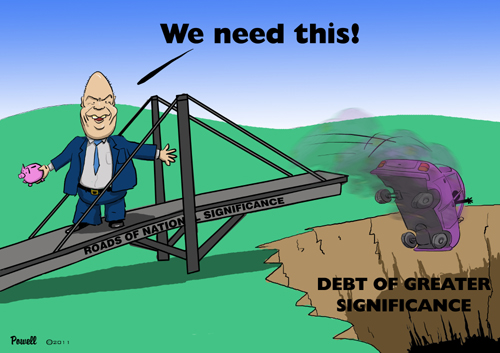 Cartoon: Debt of Greater Significance