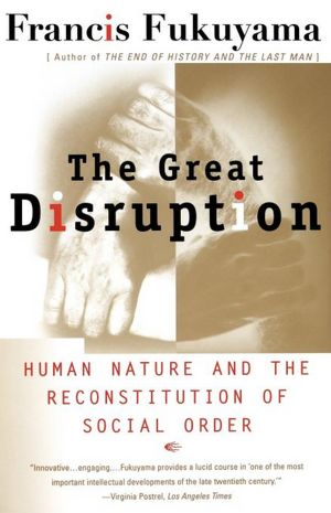 The Great Disruption, cover of