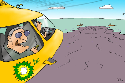 Gulf of Mexico oil spill cartoon