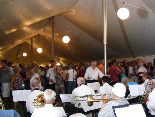 Prohibition Big Band, 2009 Mahurangi Regatta Prize-Giving and Dance