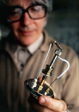 James Lovelock and his electron capture detector