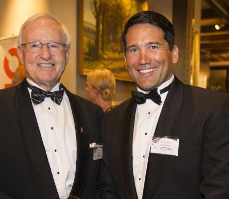Jim Bolger and Dr Lance O'Sullivan