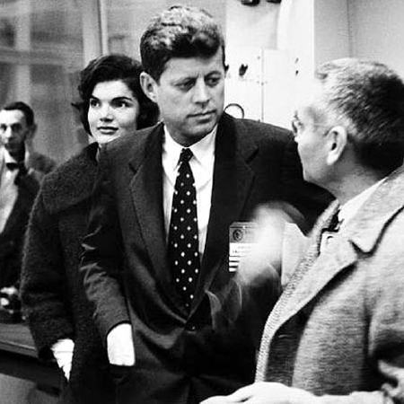 John Kennedy and Alvin Weinberg