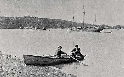 Coastal path and the ferrymen