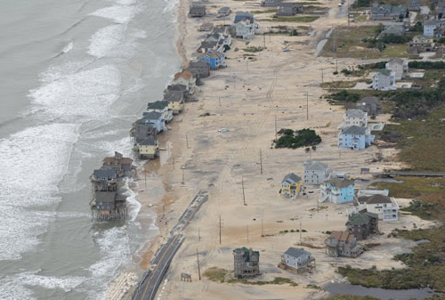 North Carolina coast post Sandy