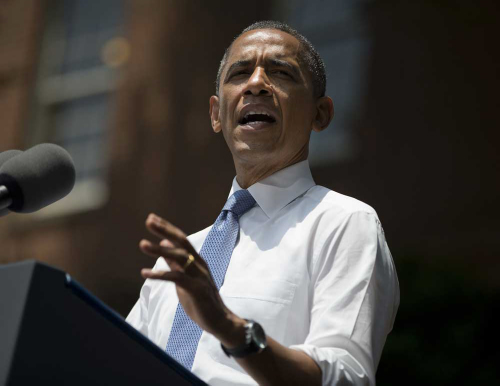 President Barack Obama, climate action speech