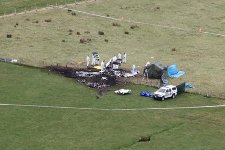 Skydiving plane crash