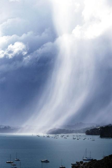 Scotts Landing squall