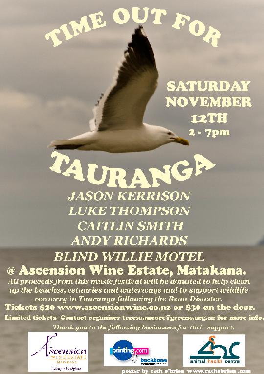 Time-Out for Tauranga flyer