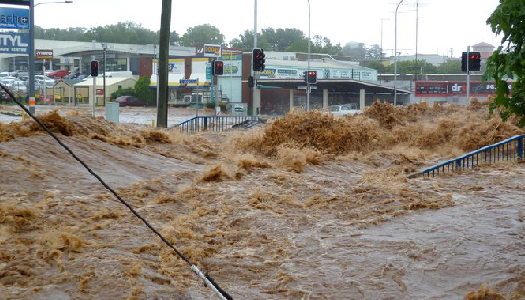 Toowoomba flash flood 10.01.2011