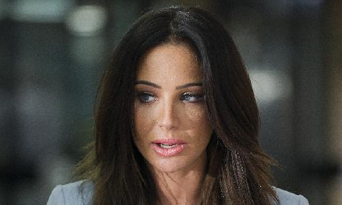 Tulisa Contostavlos, in court