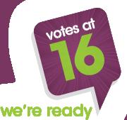 Votes at 16 logo