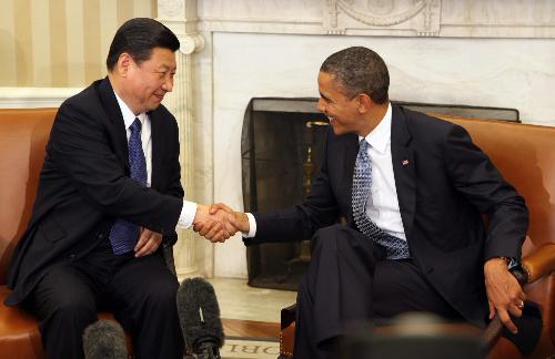 Xi Jinping, Barack Obama