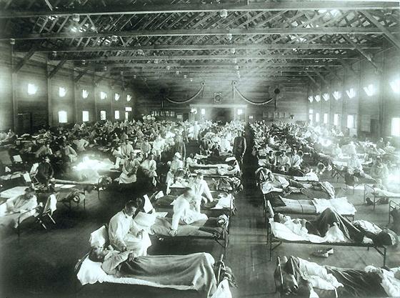 Camp Funston Influenza Hospital