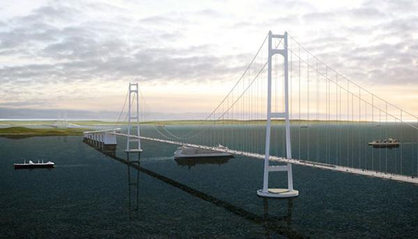 Sunda Strait Bridge concept