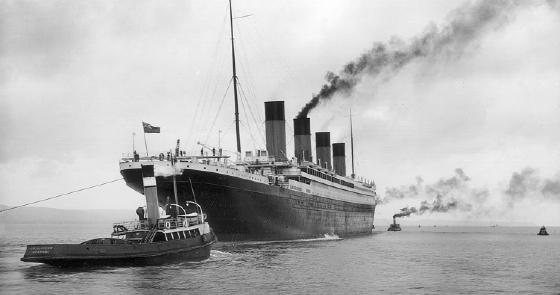 RMS Titanic sea trials