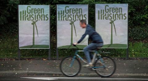 Green Illusions billboards