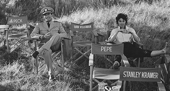 Gregory Peck and Ava Gardner