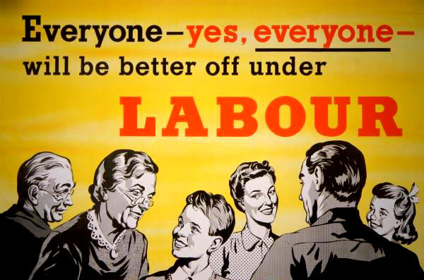 1957 Labour Party poster