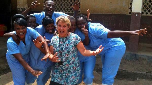 New Zealand Medical Assistance Team nurse Robby Berghan