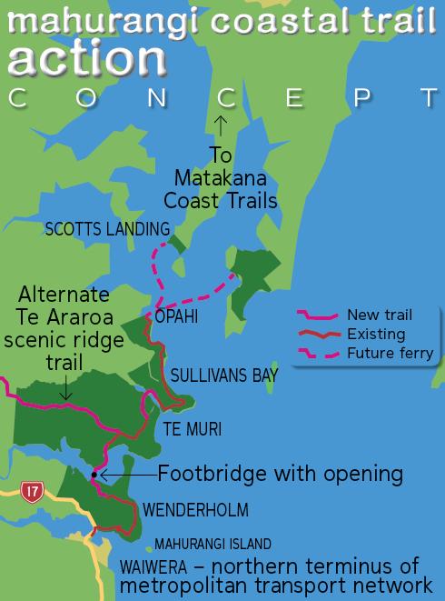 Te Araroa Te Muri route option