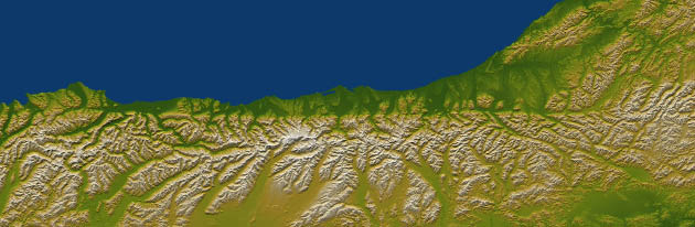 Alpine Fault line