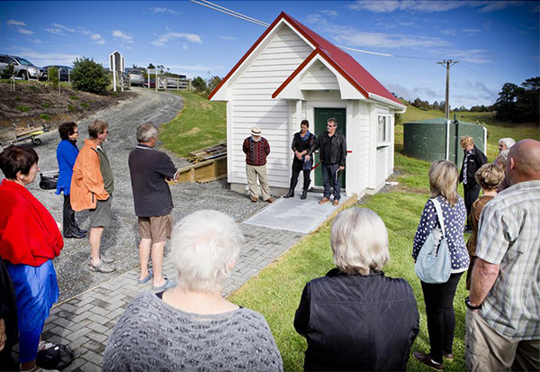 Mahurangi West Hall toilets opening