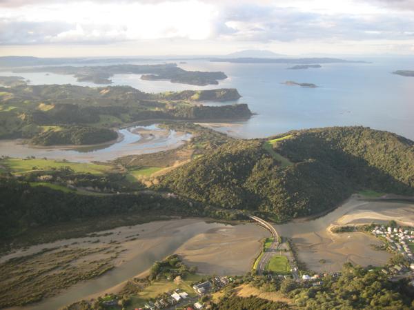 Aerial-Waiwera-Mahurangi