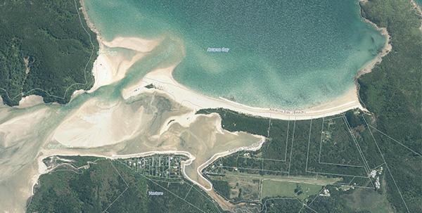 Awaroa Beach GIS