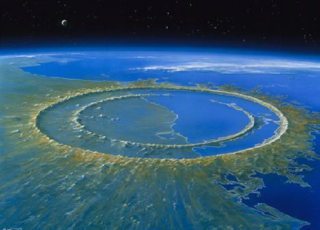 Chicxulub Asteroid Crater