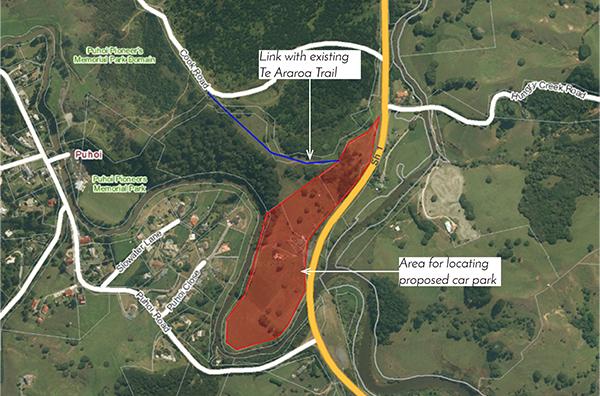 Pūhoi Community Forum map