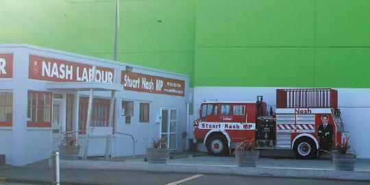 Stuart Nash, fire engine