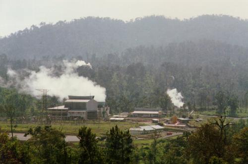Geothermal power generation at Kamojang
