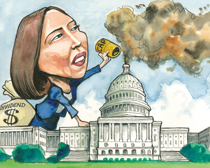 Maria Cantwell cartoon