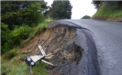 Ngarewa Drive subsidence