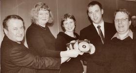 Stephen Todd, Helen Algar, David Nalder and Shane Wood