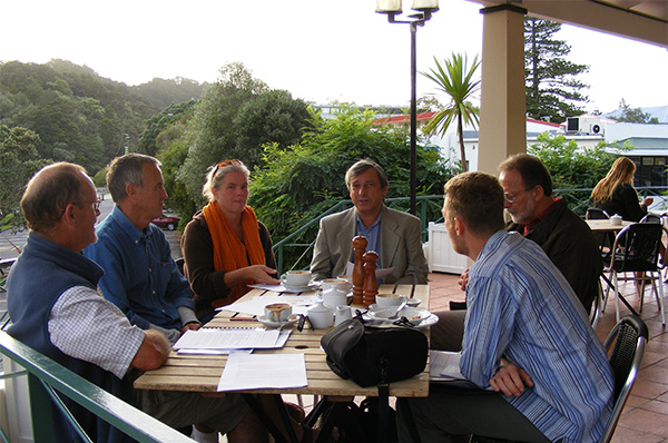Mahurangi brainstorming breakfast, 2008