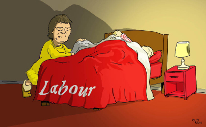 Mayor in bed with Labour