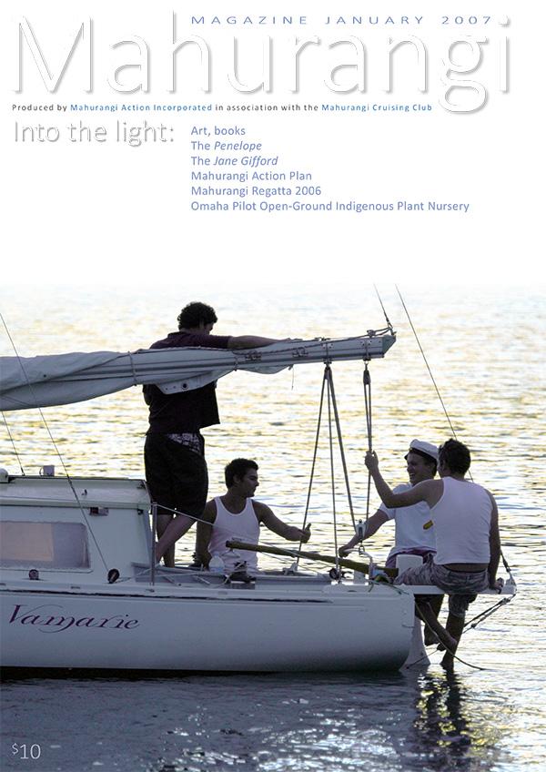 Mahurangi Magazine cover, January 2007