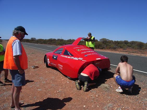 Darwin Adelaide Race