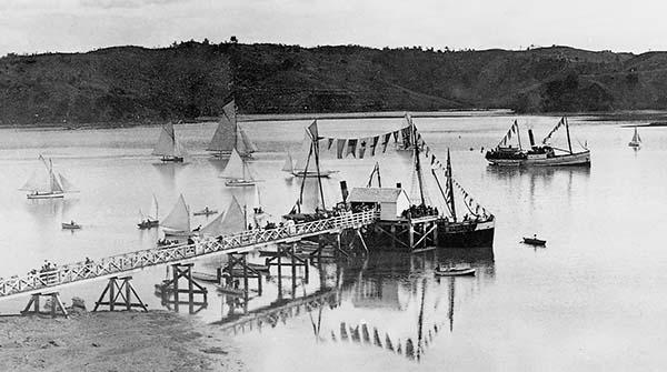 1901 Mahurangi Regatta