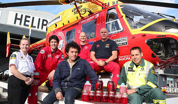 James Le Fevre and team