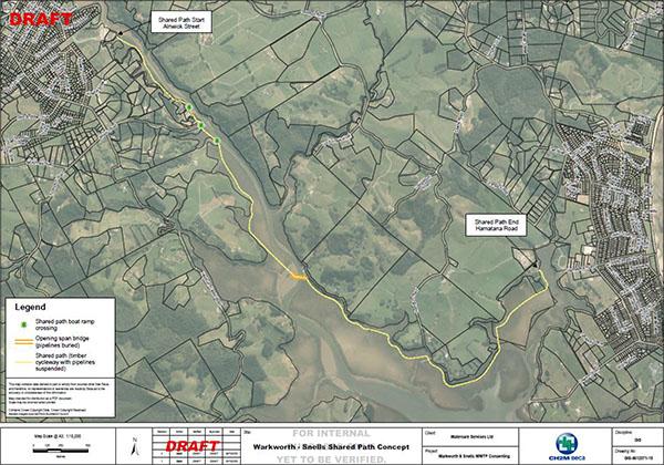Mahurangi Riverpath map